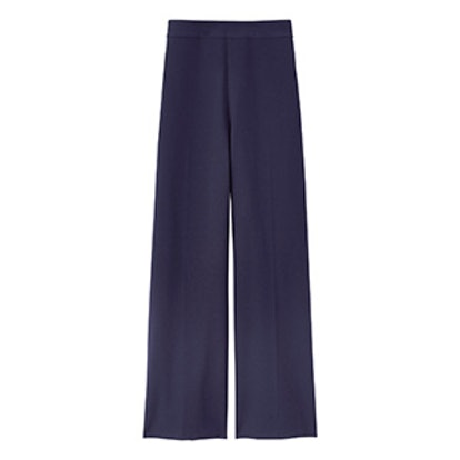 Stretch Suiting Wide Leg Crop Pant