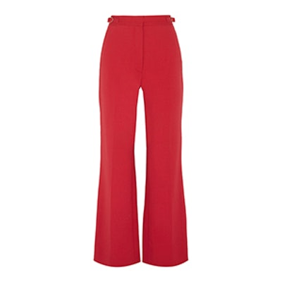 Vesta Wool-Blend Flared Pants