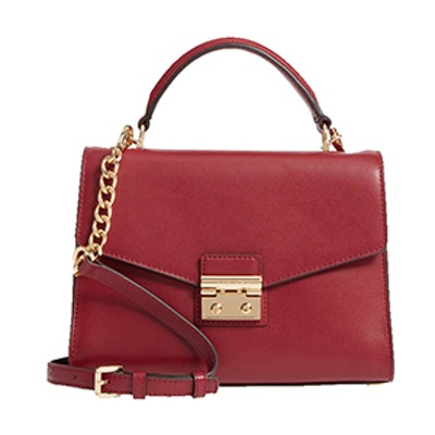 Medium Sloan Leather Satchel