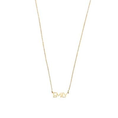 Modern Block Necklace