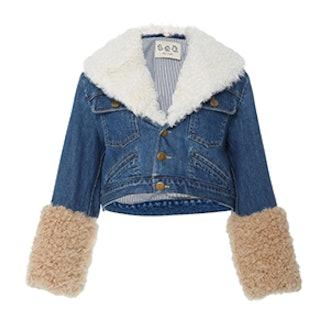 Dunaway Shearling Denim Jacket