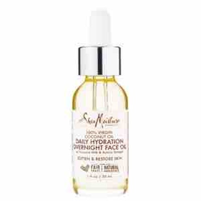 SheaMoisture Daily Hydration Overnight Face Oil