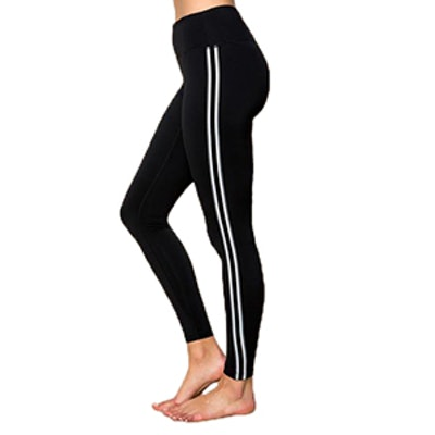 Athletic Stripe Practice Legging Black