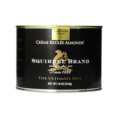Squirrel Brand Nuts Crème Brûlée Almonds 18 Ounce Can