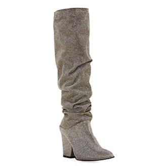 Smashing Sparkle Knee Boot