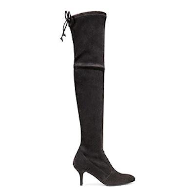The Tiemodel Boot in Suede Grey