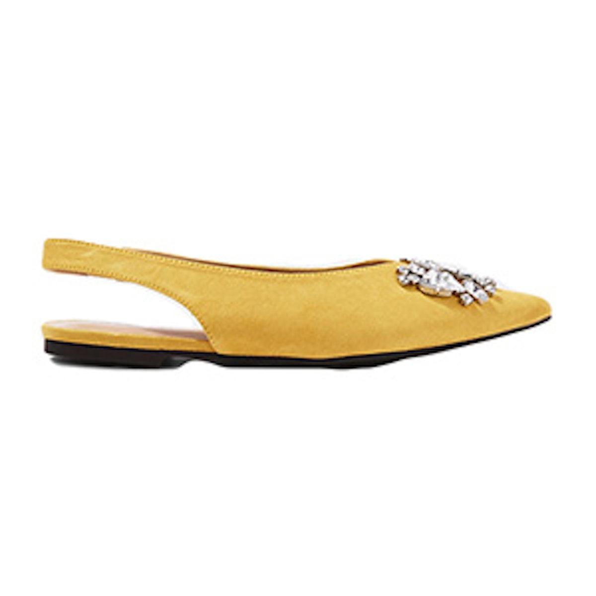 Ava Gem Slingback Shoes