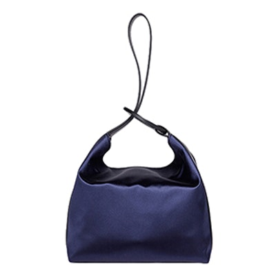 The Pina Satin Wristlet Bag