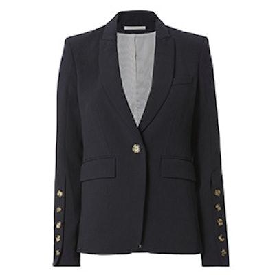 Steele Cutaway Button Cuff Jacket