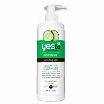 Yes To Cucumber Soothing Gentle Milk Cleanser