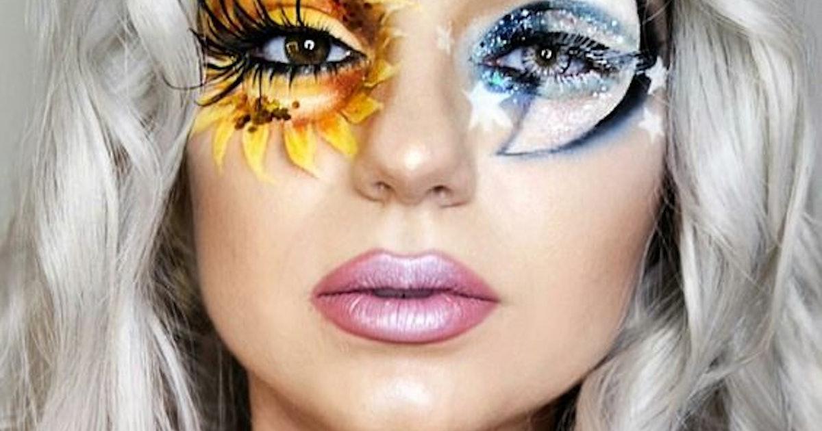 6 Halloween Makeup Ideas We Re Stealing From Pinterest