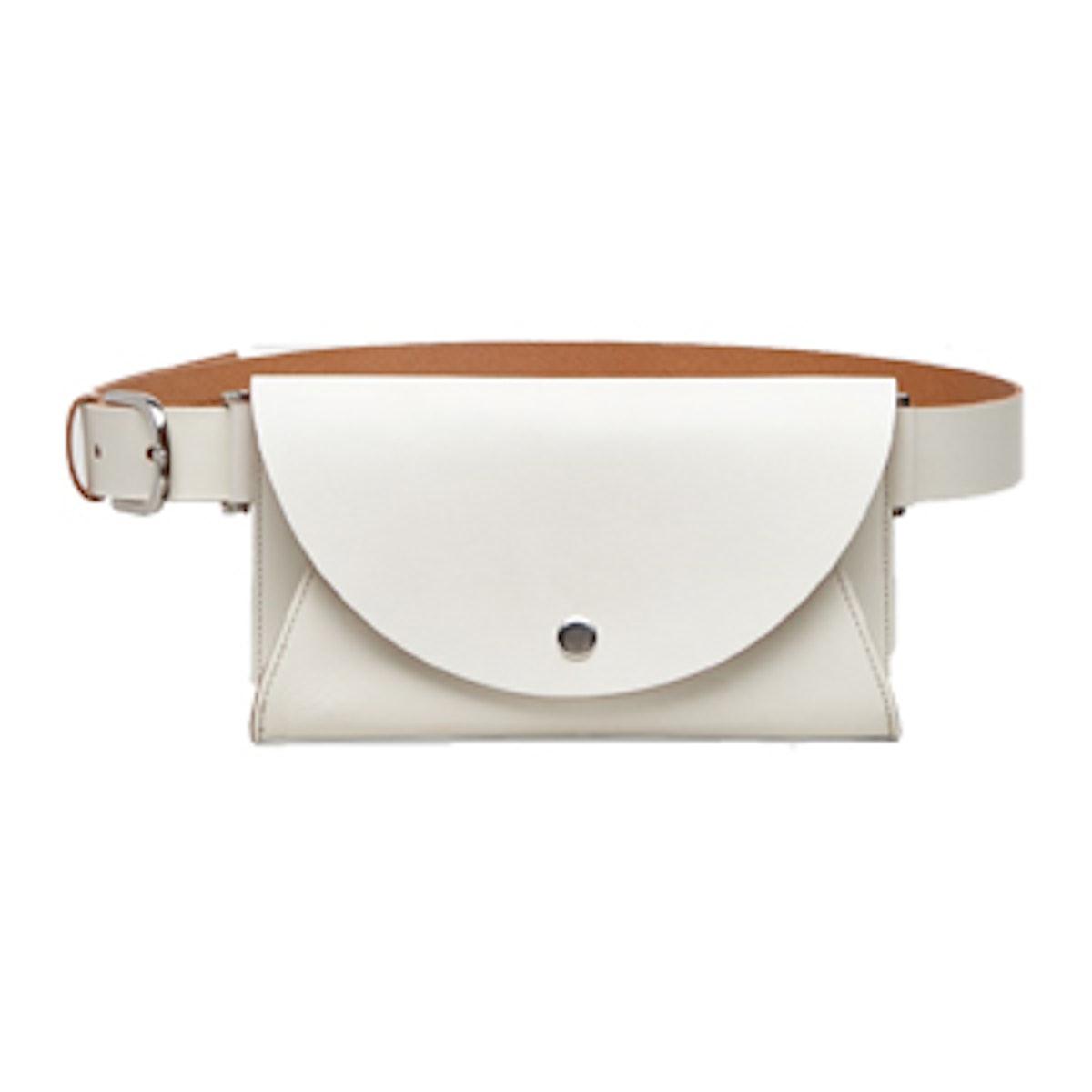 Belt With Detachable Pocket