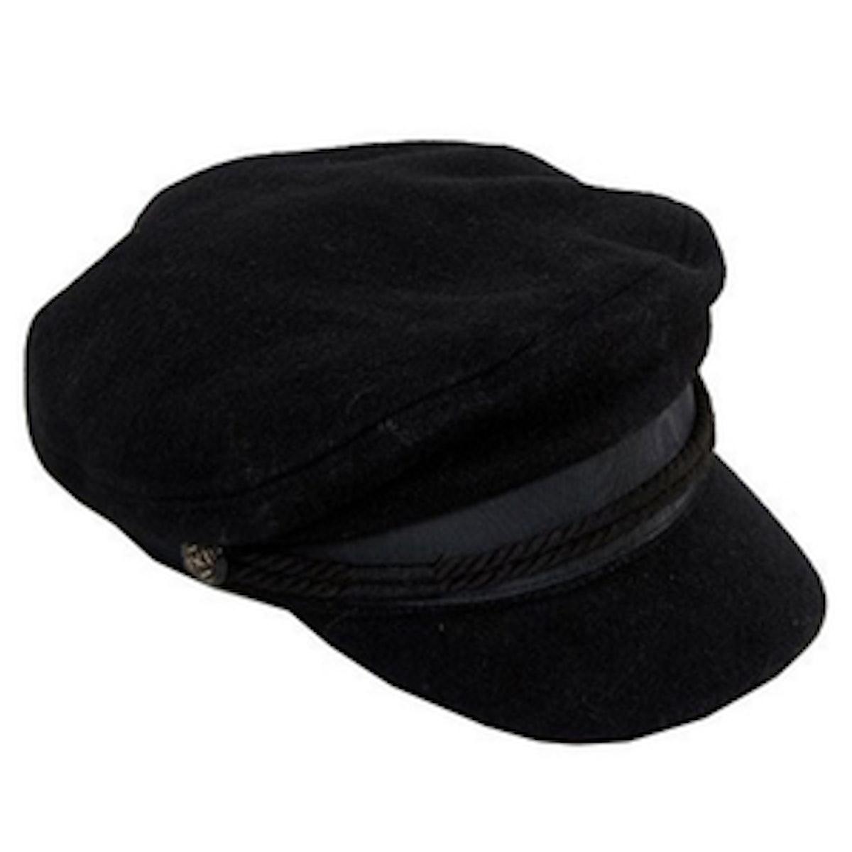 High Crown Wool Baker Boy Hat