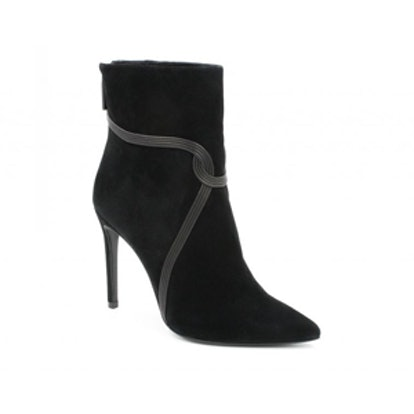 Liana Suede Stiletto Ankle Boots