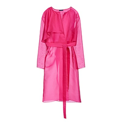 Asymmetrical Silk Jacket