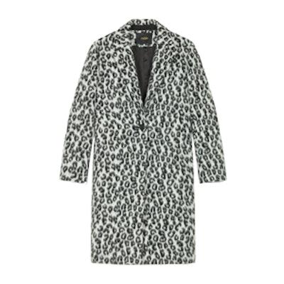 Leopard-Print Frock Coat