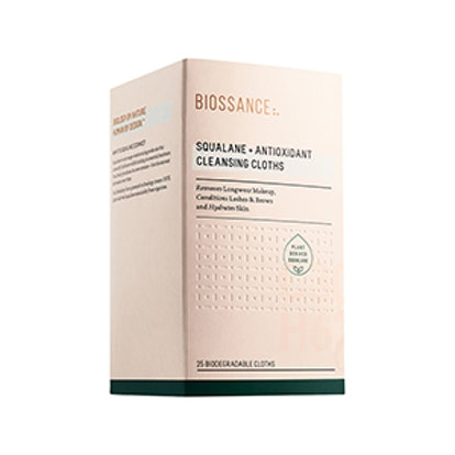 Squalene + Antioxidant Cleansing Cloths