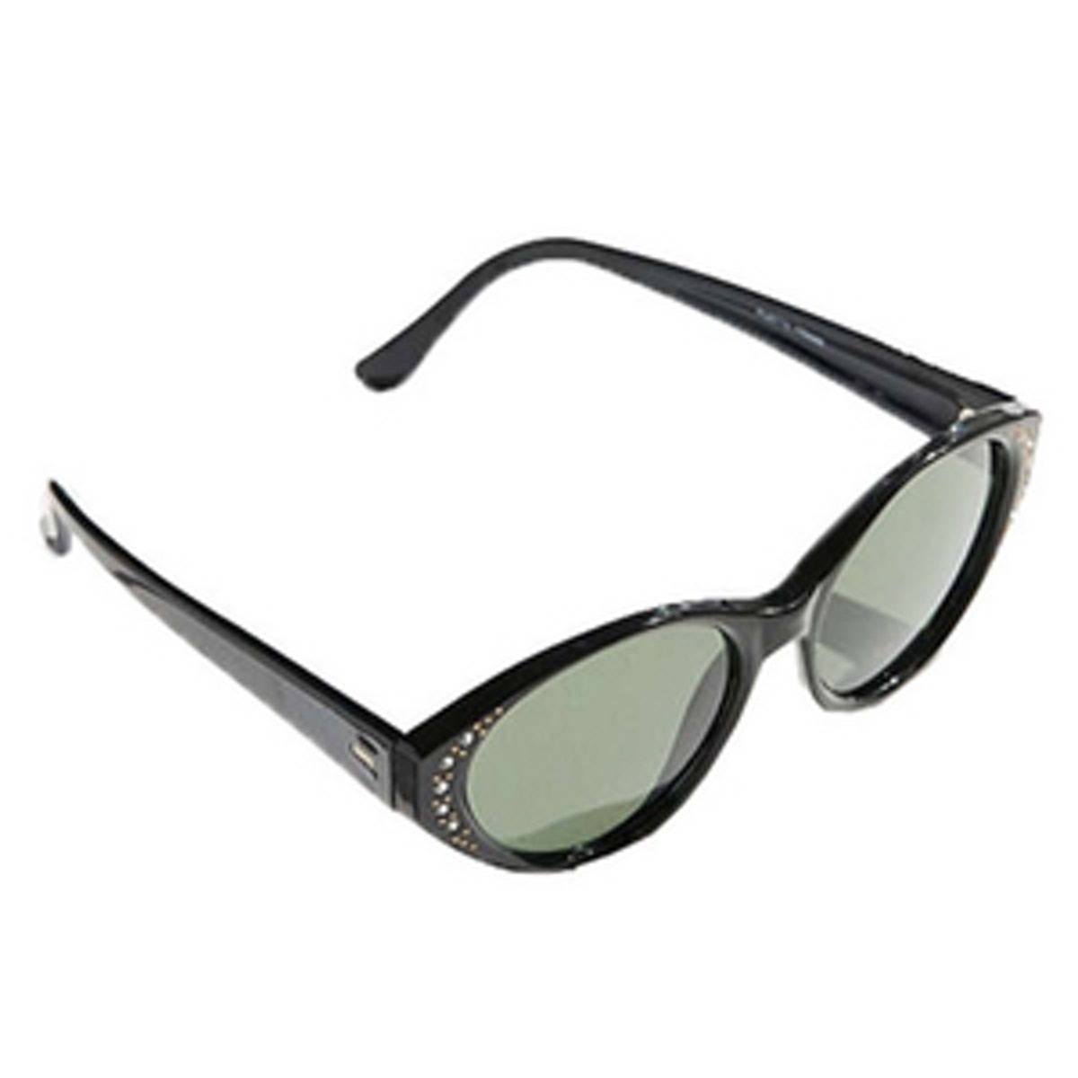 Vintage Rhinestone Cat-Eye Sunglasses