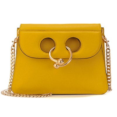Pierce Mini Leather Crossbody Bag