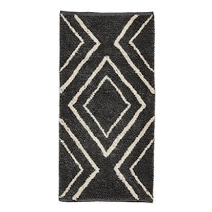 Jacquard-Weave Wool-Blend Rug