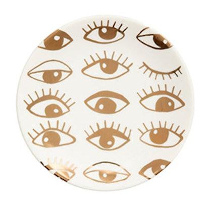 Patterned Porcelain Plate