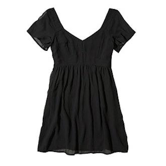 Chiffon Babydoll Dress