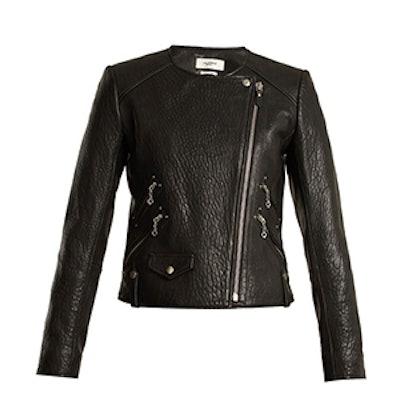 Kankara Bubbled Leather Jacket