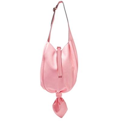 Knot Leather Shoulder Bag