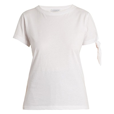 Single-Knot Cotton T-Shirt