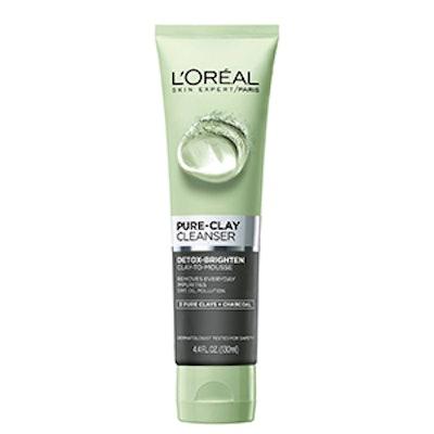 L'Oreal Paris Pure Clay Cleanser – Detoxify & Brighten