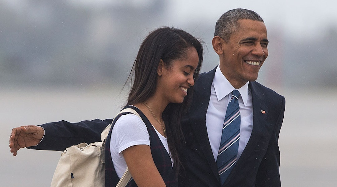 Malia Obama Just Moved Into Harvard, And We Have All The Feels