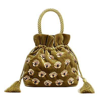 Velvet Bead Bag