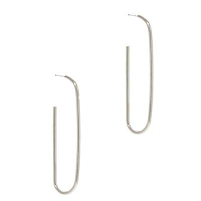 Paper Clip Drop Earring