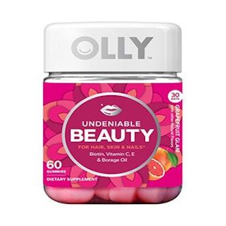 Olly Undeniable Beauty Grapefruit Glam Gummies