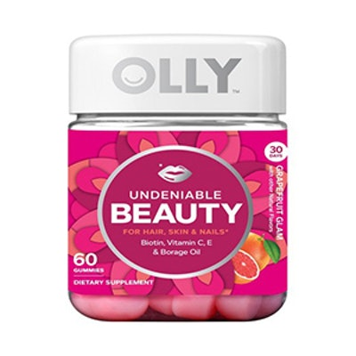 Olly Undeniable Beauty Grapefruit Glam Gummies