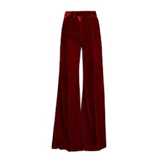 Lincoln Wide-leg Velvet Trousers