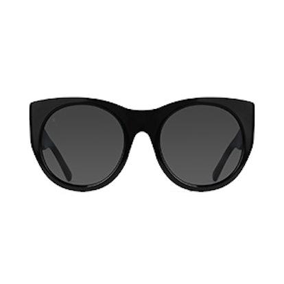 Durante Chunky Cat-Eye Sunglasses