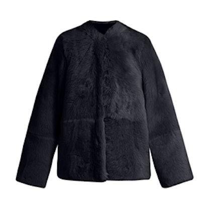 Asymmetric-Hem Leopard-Print Twill Slip Dress