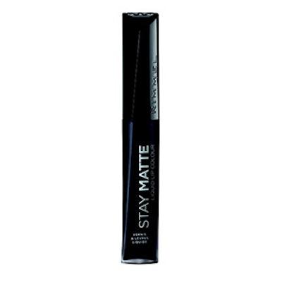 Stay Matte Liquid Lip Colour in Pitch Black