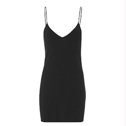 Classic Black V-Neck Dress