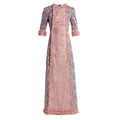 Cate Liberty Floral-Print Cotton Dress
