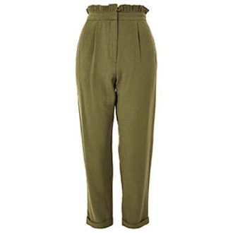 Ruffle Waist Mensy Trousers