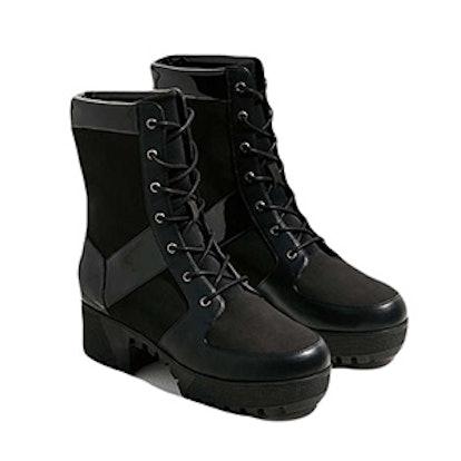 Penny Treaded Combat Boot