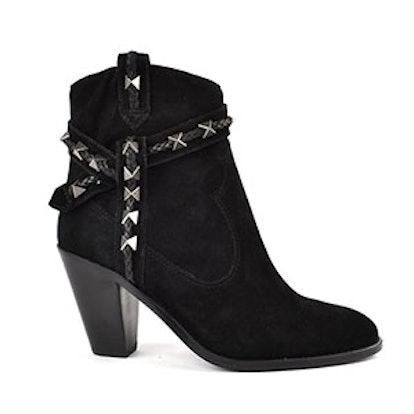 Ilona Black Suede Boot