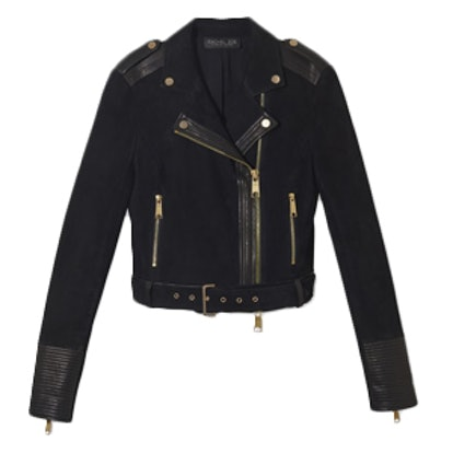 Hastings Suede Moto Jacket