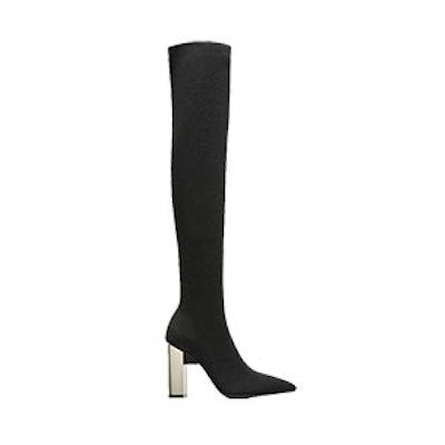 Tall Elastic High Heel Boots