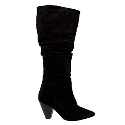 Cadet Wide Fit Slouch Knee Boots