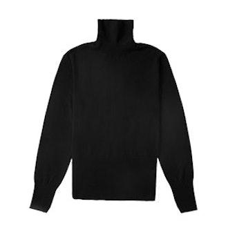 The Luxe Wool High Rib Turtleneck