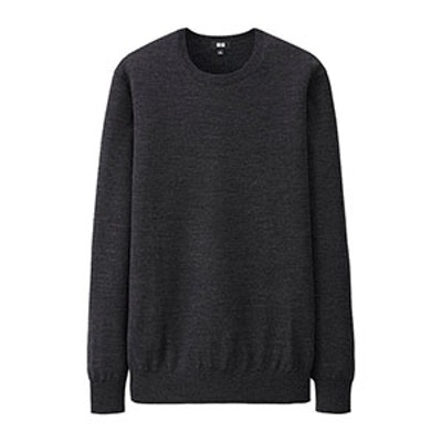 Women Extra Fine Merino Crew Neck Sweater