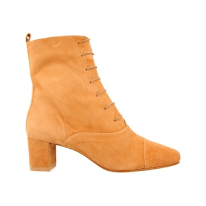 Lada Suede Lace-Up Boots